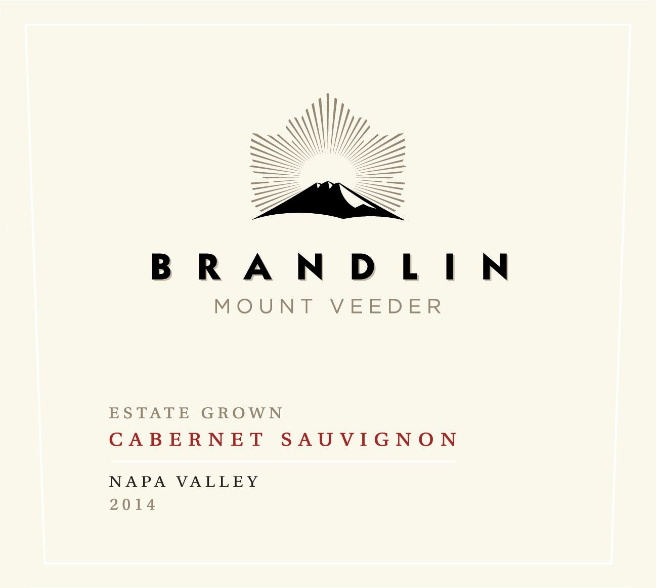 Brandlin Estate Cabernet Sauvignon 2014  Front Label