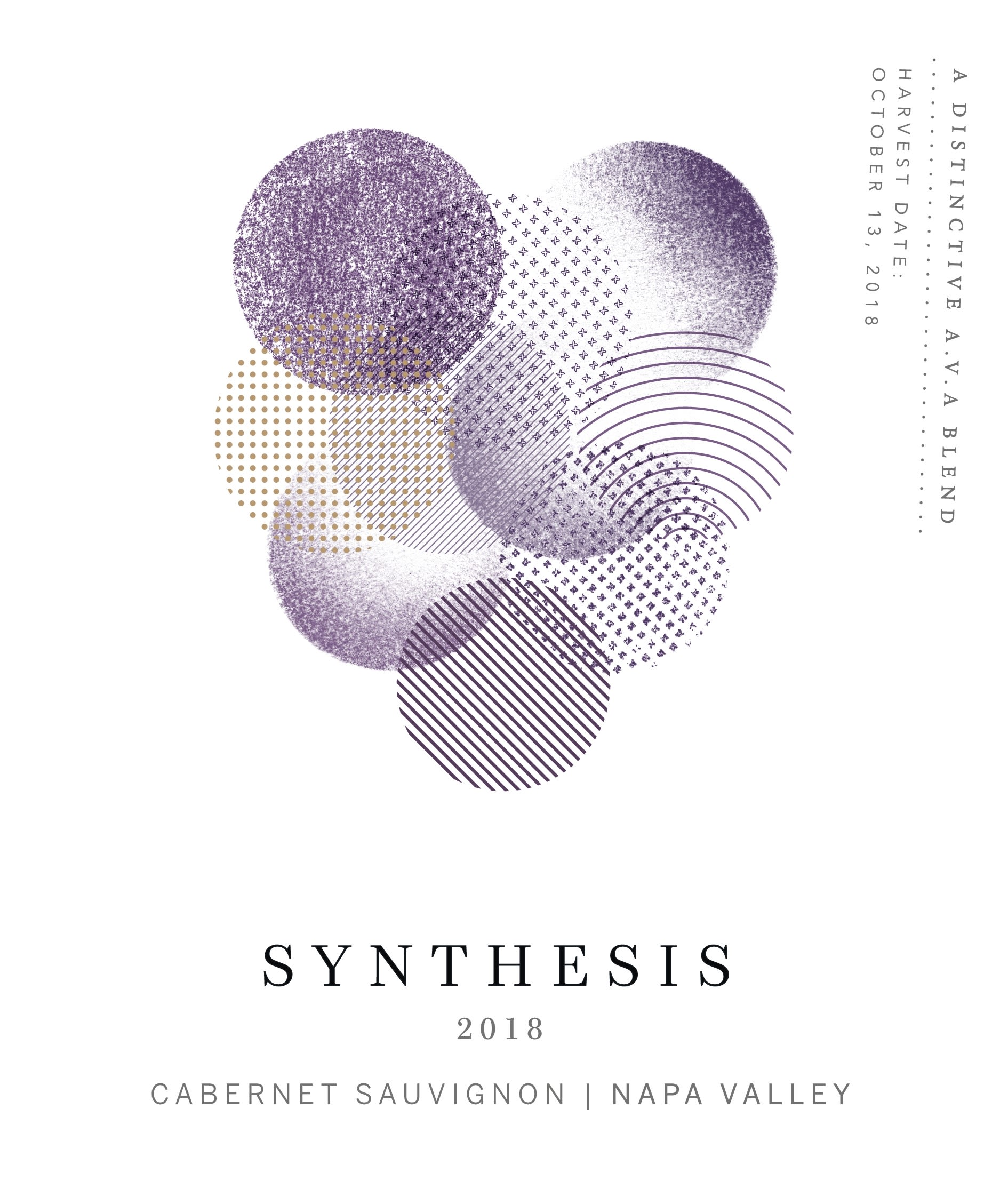 Martin Ray Synthesis Cabernet Sauvignon 2018  Front Label