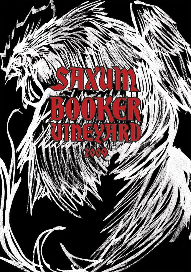 Saxum Booker Vineyard 2009  Front Label