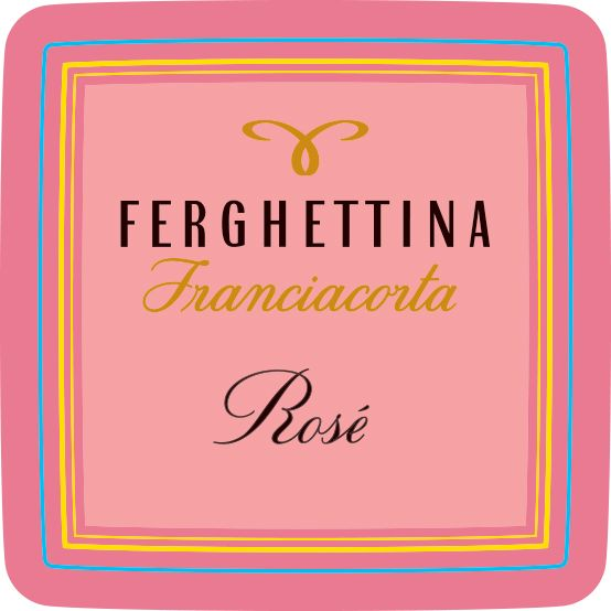 Ferghettina Franciacorta Rose 2015  Front Label