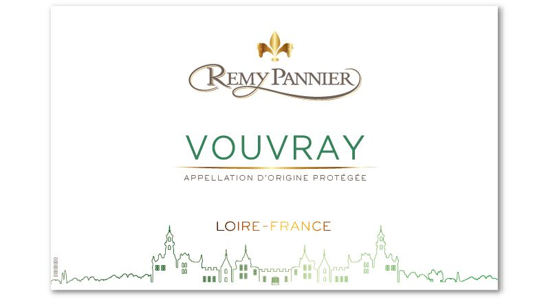 Remy Pannier Vouvray 2018  Front Label