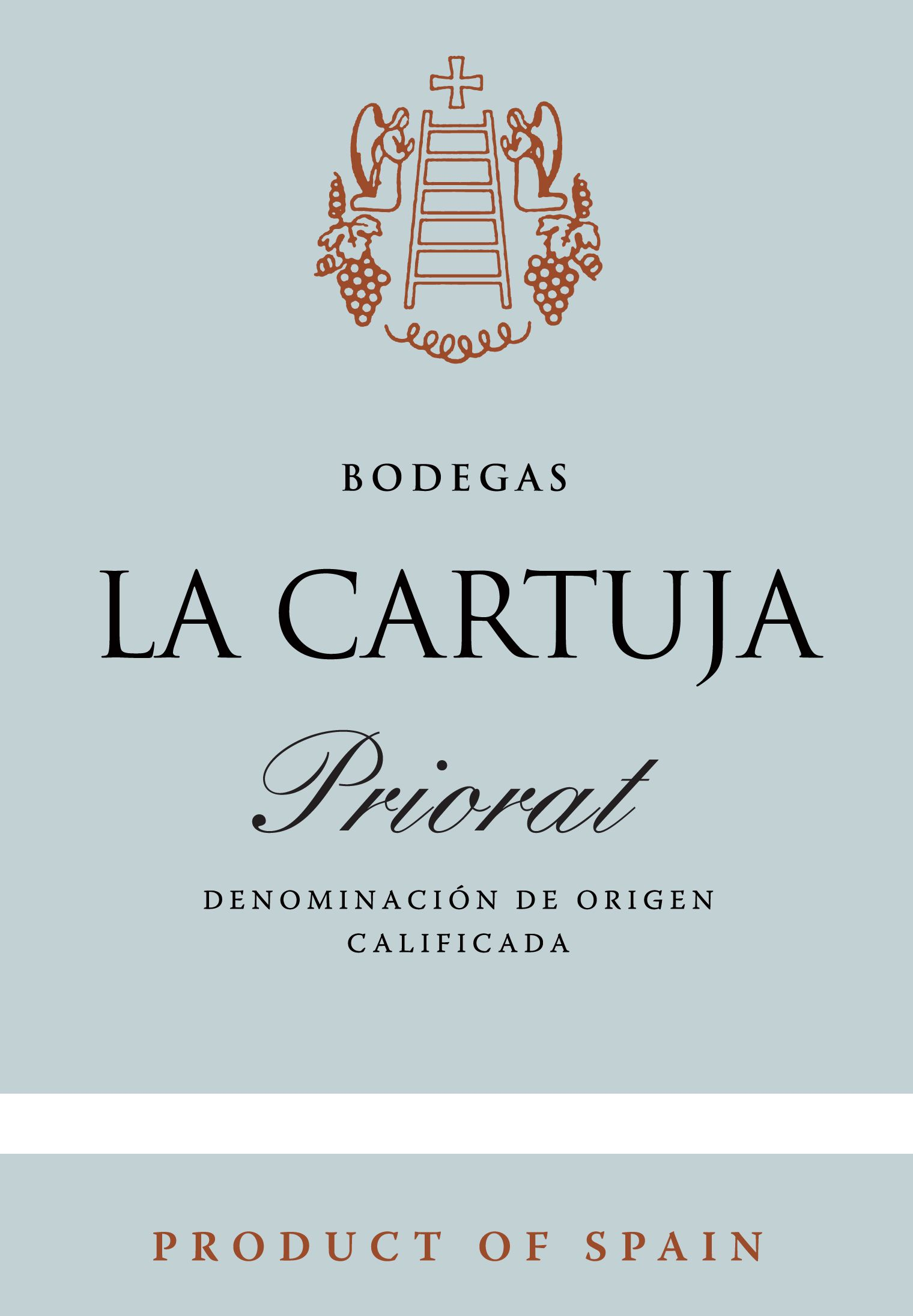 La Cartuja Priorat 2017  Front Label