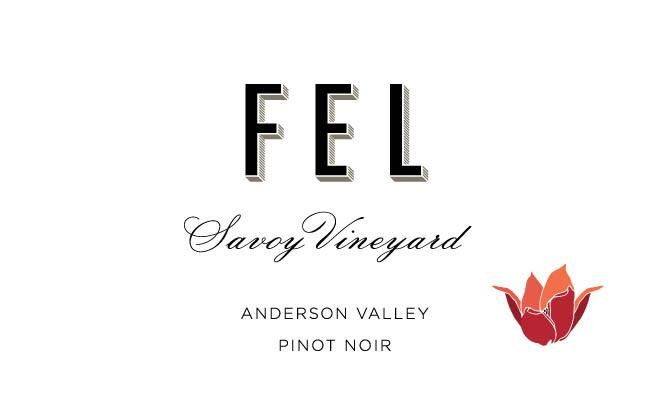 FEL Savoy Vineyard Pinot Noir 2016 Front Label