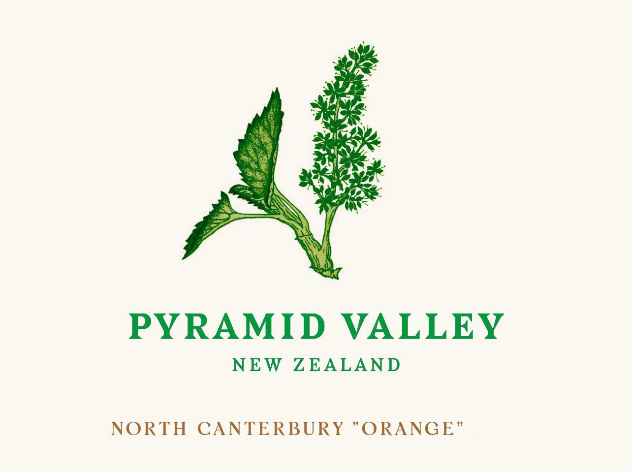 Pyramid Valley Orange Wine 2019  Front Label