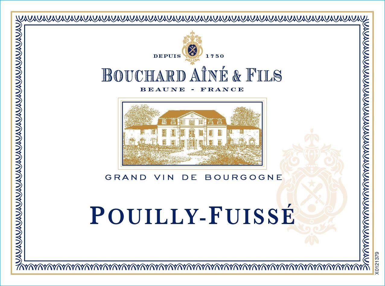 Bouchard Aine & Fils Pouilly-Fuisse 2017 Front Label