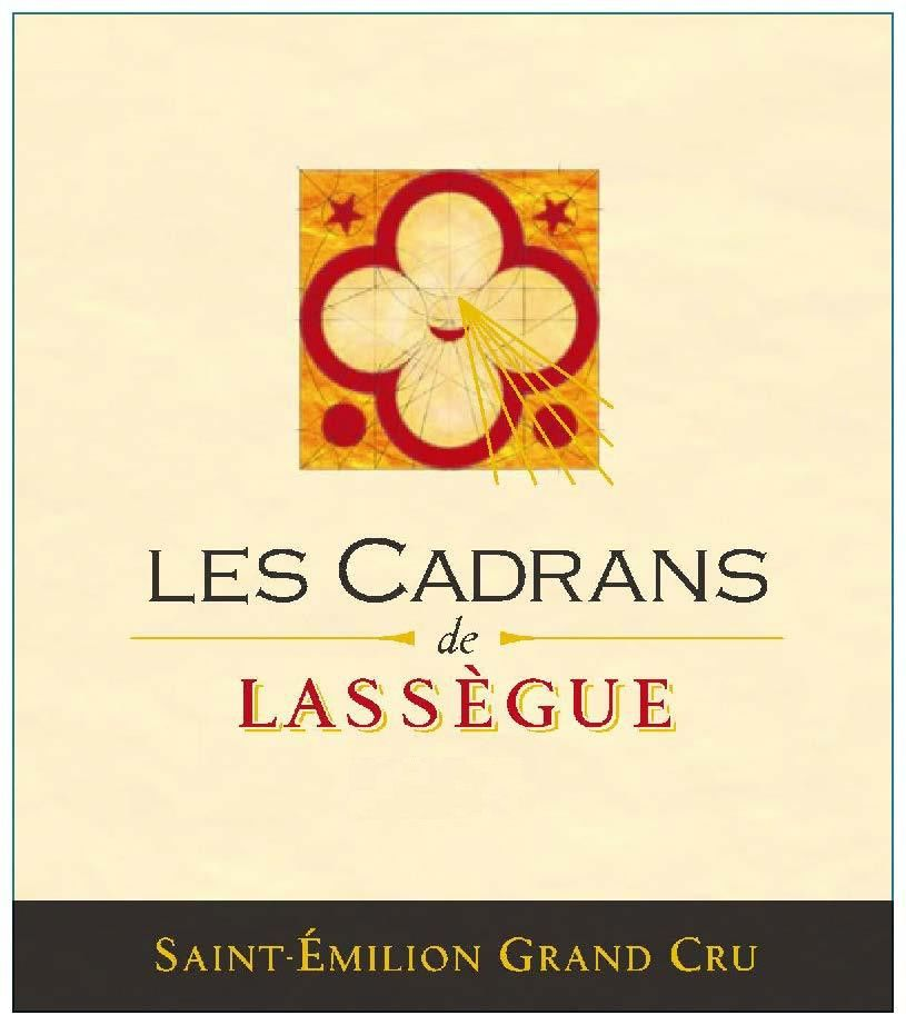 Chateau Lassegue Les Cadrans de Lassegue Grand Cru 2016  Front Label