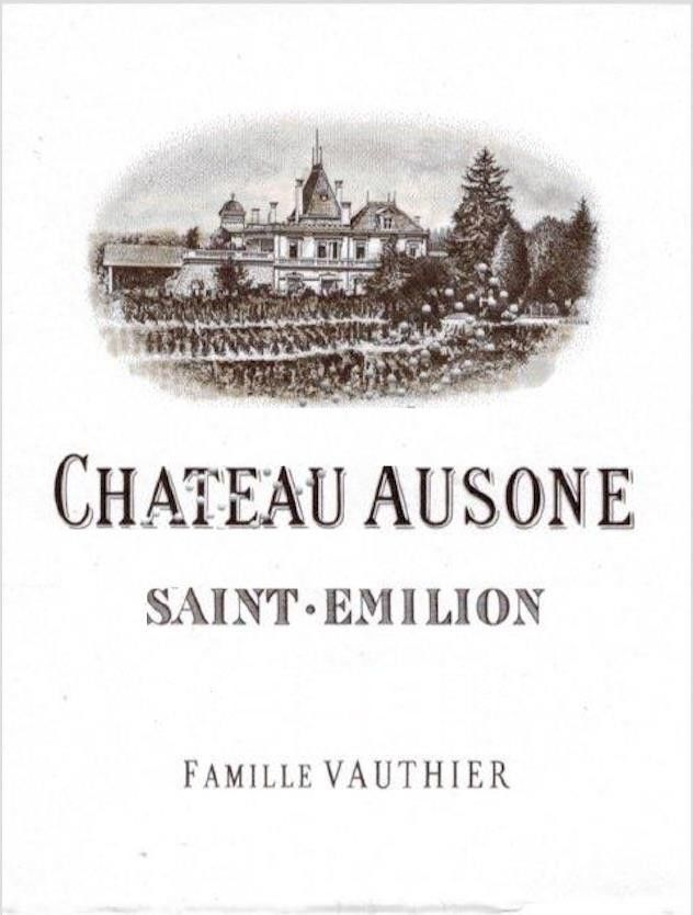 Chateau Ausone (Futures Pre-Sale) 2018  Front Label