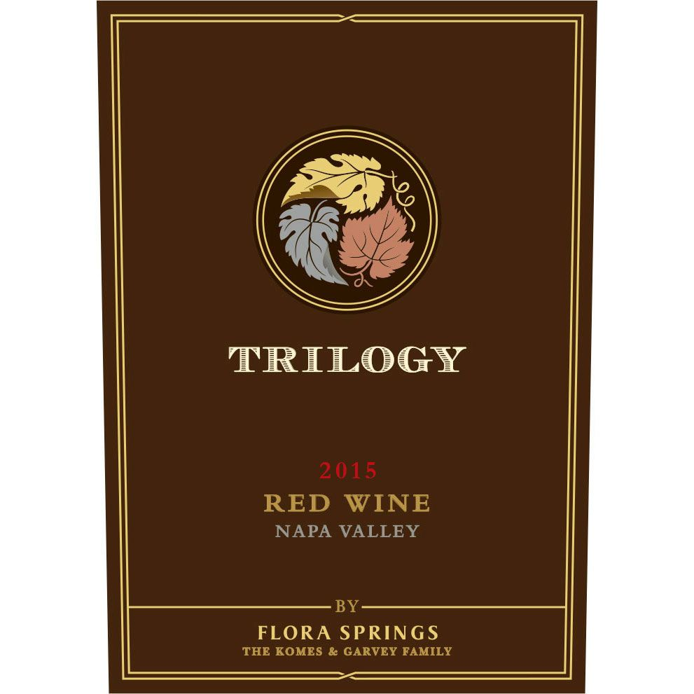 Flora Springs Trilogy (1.5 Liter Magnum) 2015  Front Label