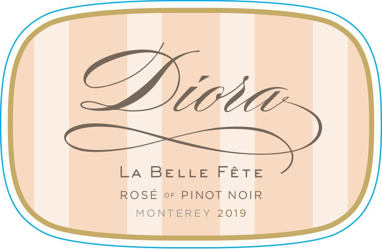 Diora Rose of Pinot Noir 2019  Front Label