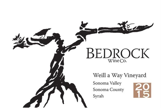 Bedrock Wine Company Weill a Way Vineyard 2015  Front Label