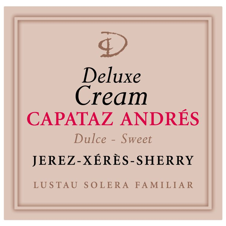 Lustau Capataz Andres Deluxe Cream Sherry  Front Label