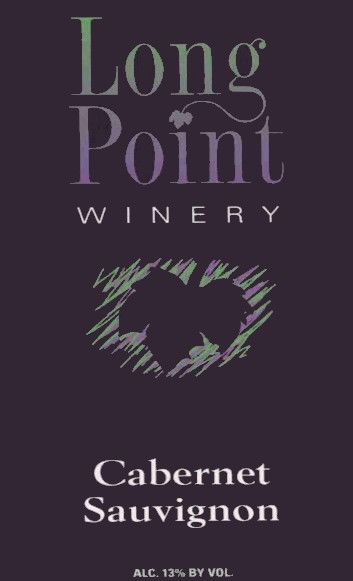 Long Point Winery Cabernet Sauvignon 2009  Front Label