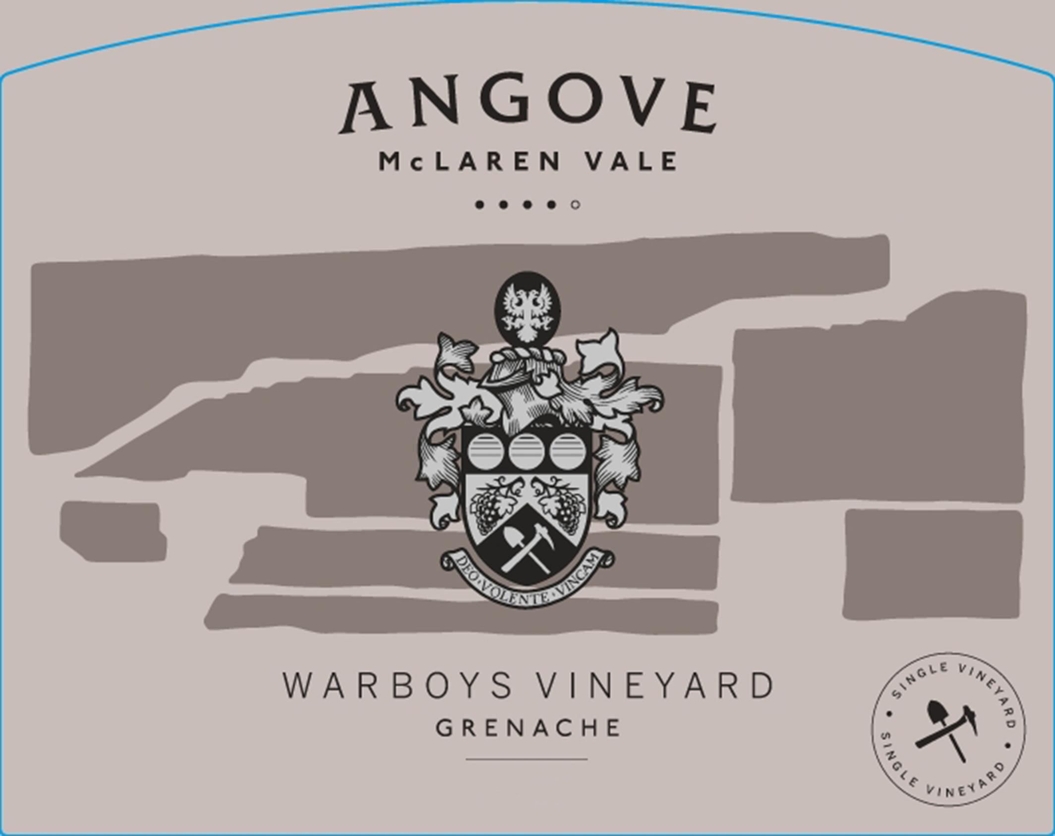 Angove Family Winemakers Warboys Vineyard Grenache 2017  Front Label