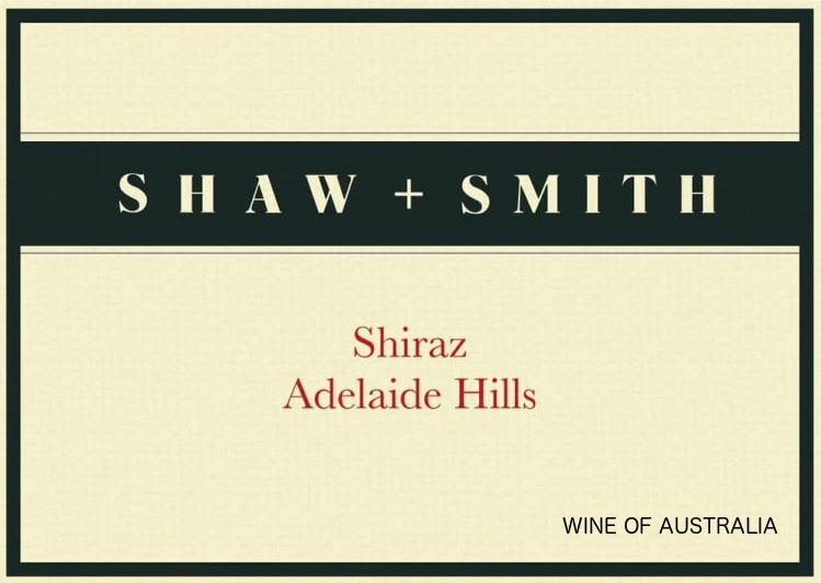 Shaw & Smith Shiraz 2017  Front Label