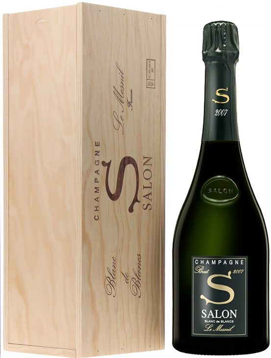 Salon Blanc de Blancs Le Mesnil in Gift Box (1.5 Liter Magnum) 2007  Gift Product Image