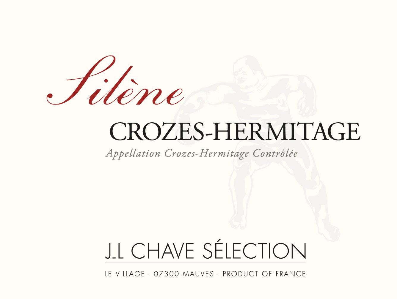Jean-Louis Chave Selection Crozes-Hermitage Silene 2018  Front Label