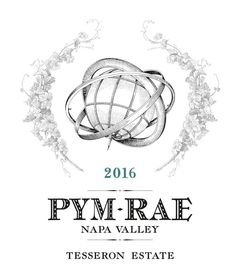 Pym-Rae Tesseron Estate 2016  Front Label