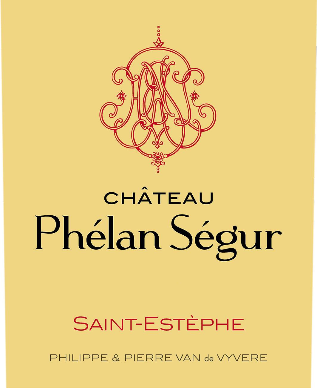 Chateau Phelan Segur (Futures Pre-Sale) 2019  Front Label