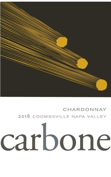 Favia Carbone Chardonnay 2018  Front Label