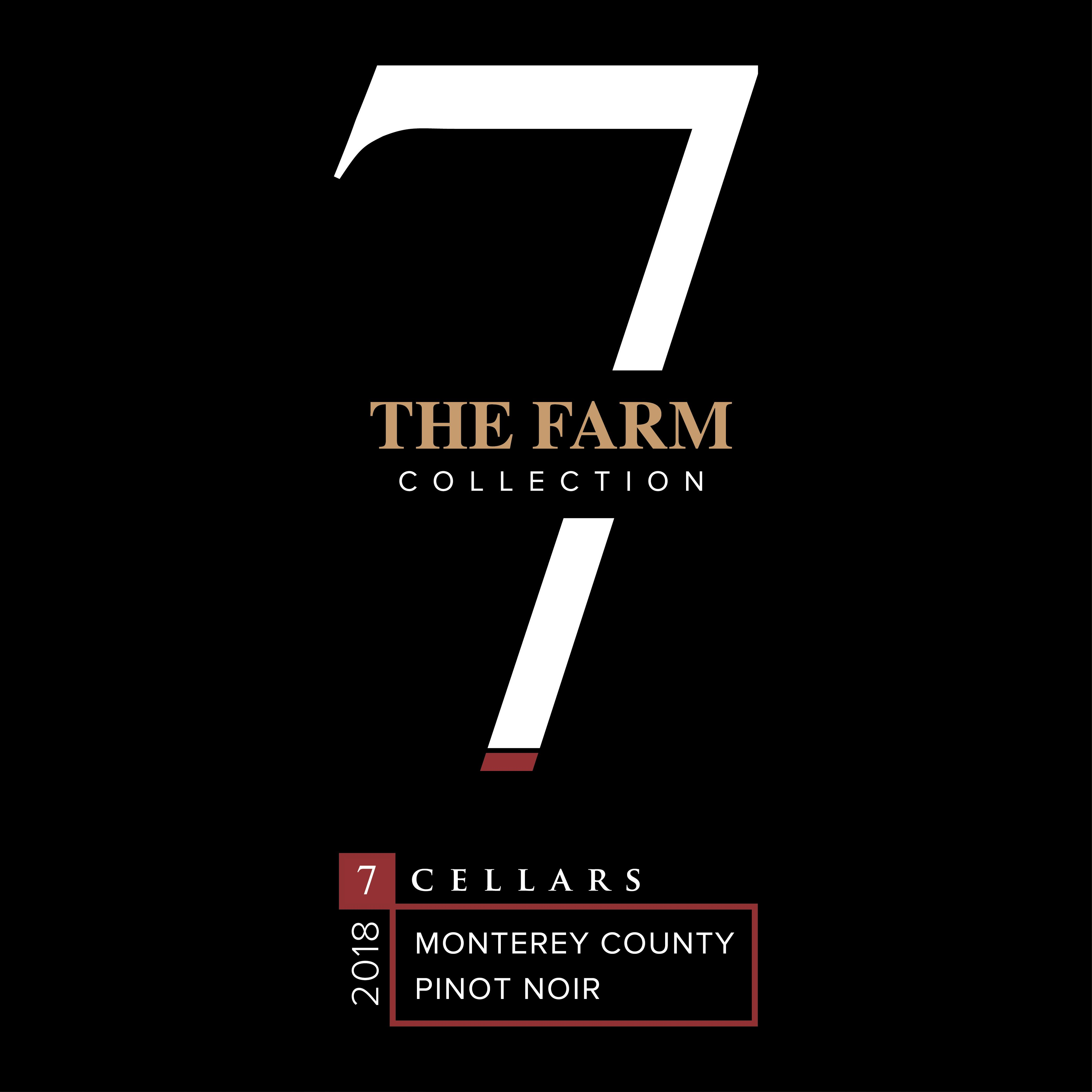 7Cellars The Farm Collection Pinot Noir 2018  Front Label