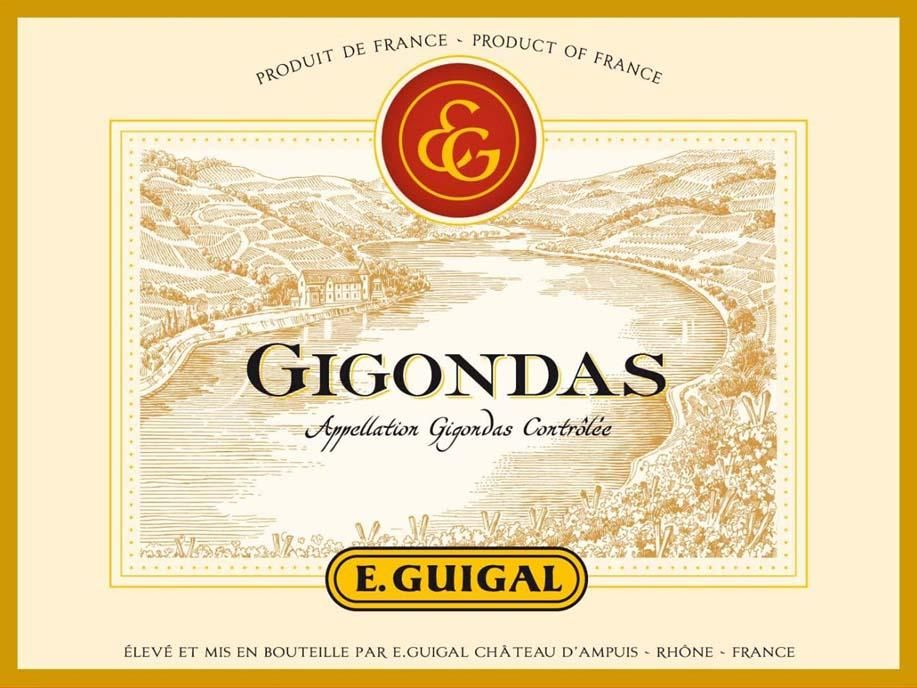 Guigal Gigondas Rouge 2016  Front Label