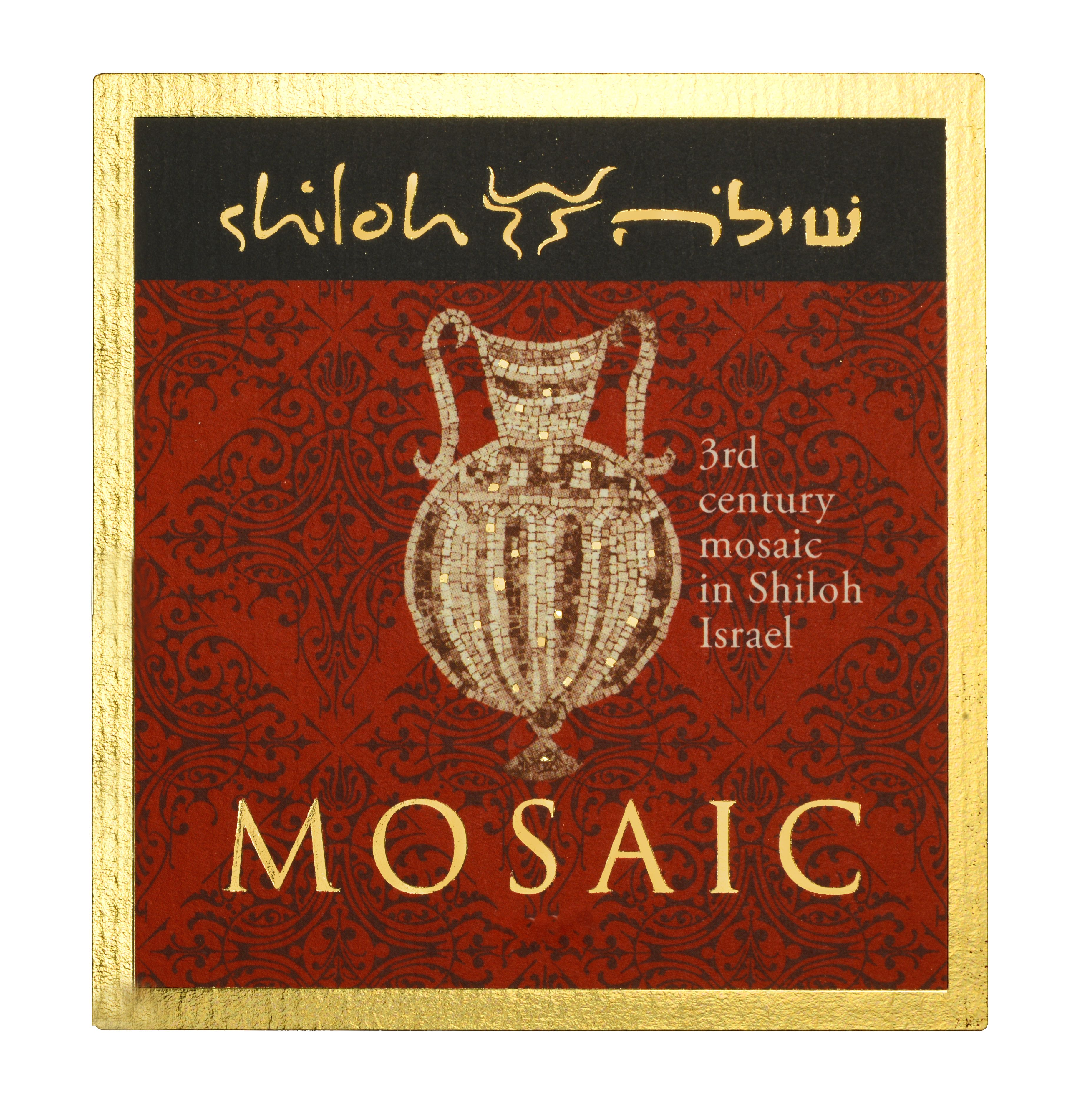 Shiloh Winery Mosaic 2016  Front Label