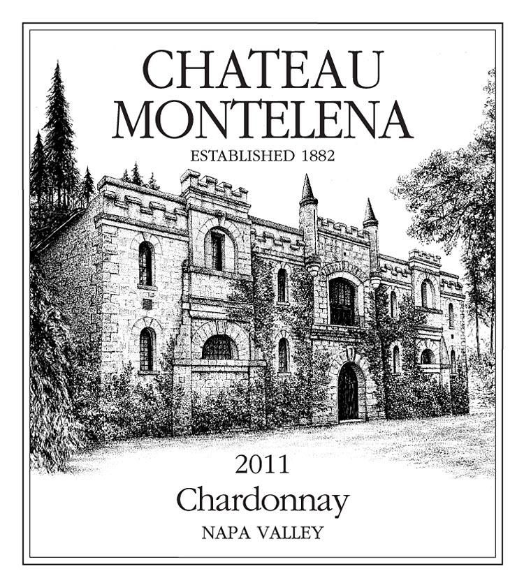 Chateau Montelena Napa Valley Chardonnay (1.5 Liter Magnum) 2011 Front Label