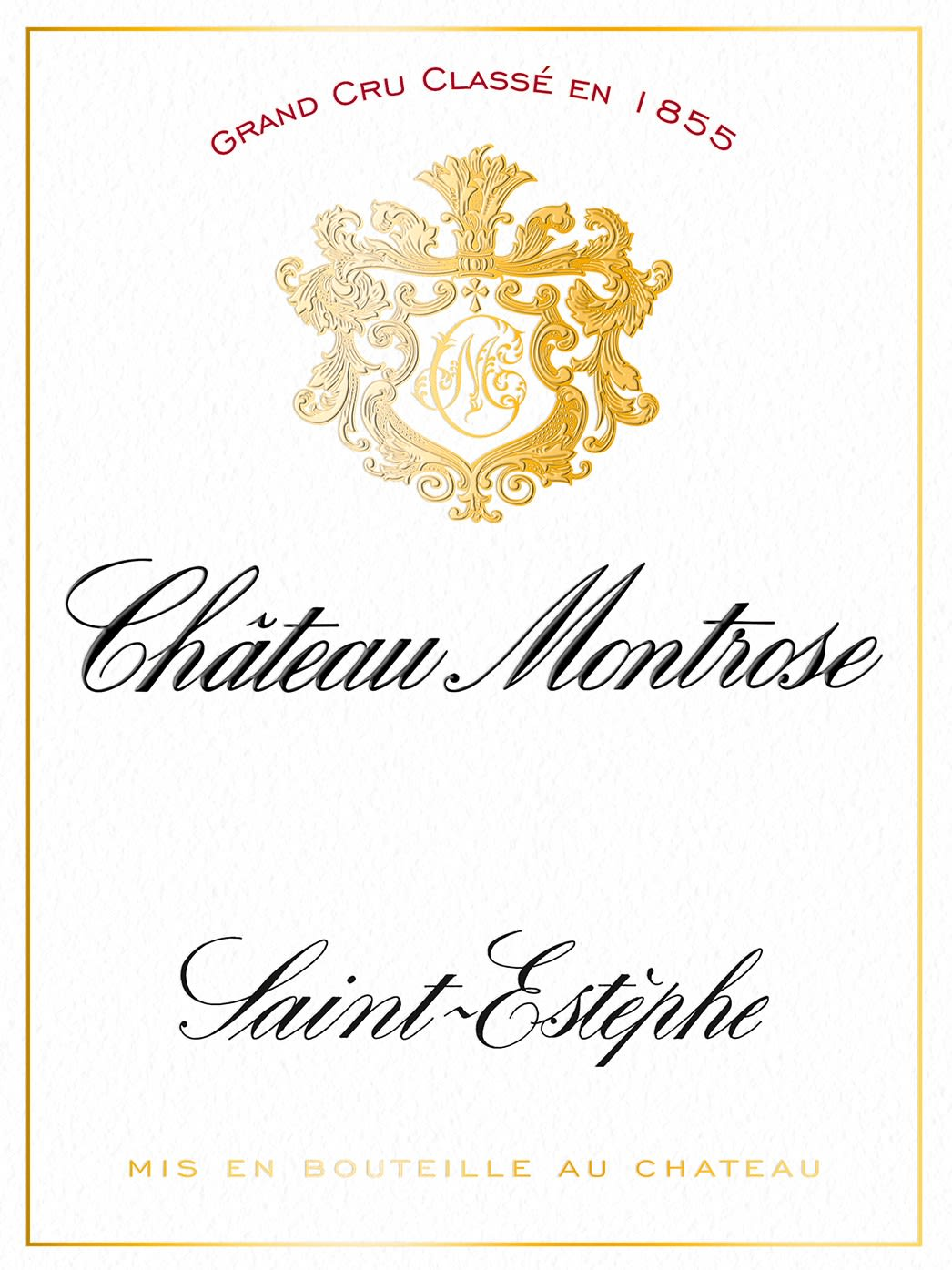 Chateau Montrose (Futures Pre-Sale) 2017 Front Label