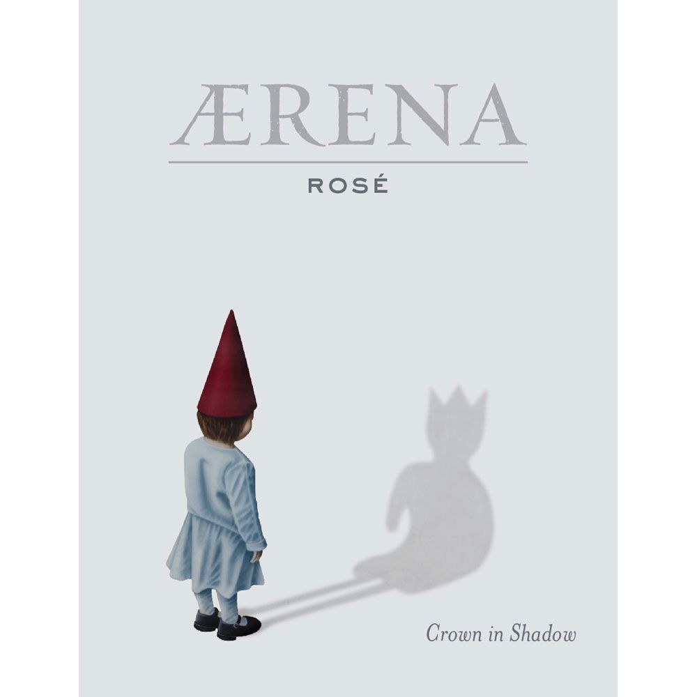 AERENA by Blackbird Vineyards Rose 2018  Front Label
