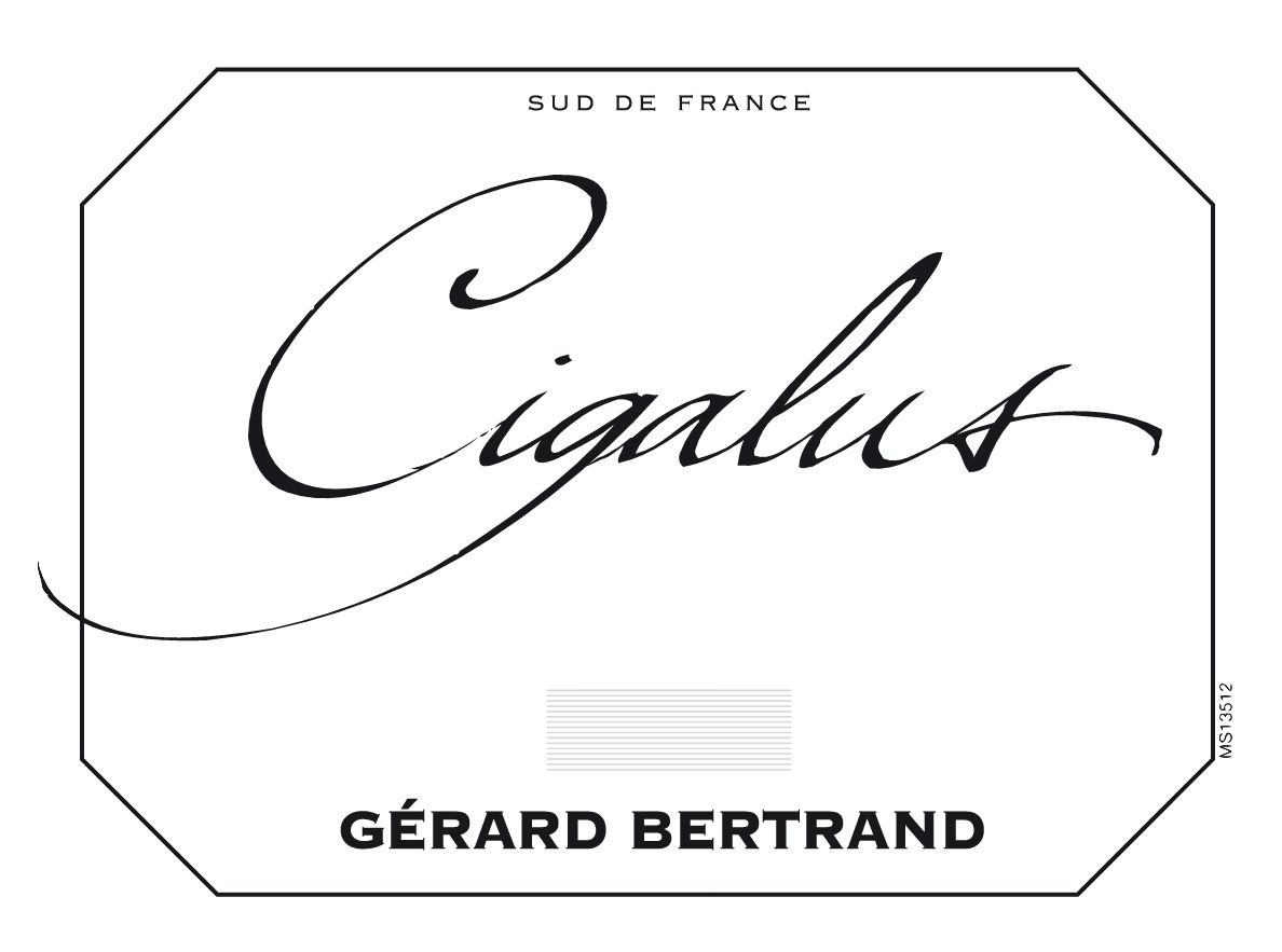 Gerard Bertrand Cigalus Rouge 2017  Front Label