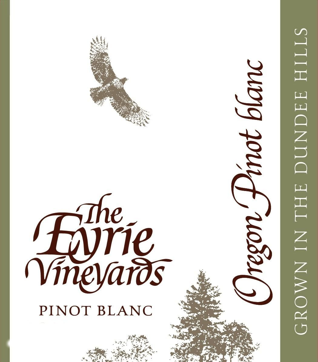 Eyrie Pinot Blanc 2017  Front Label