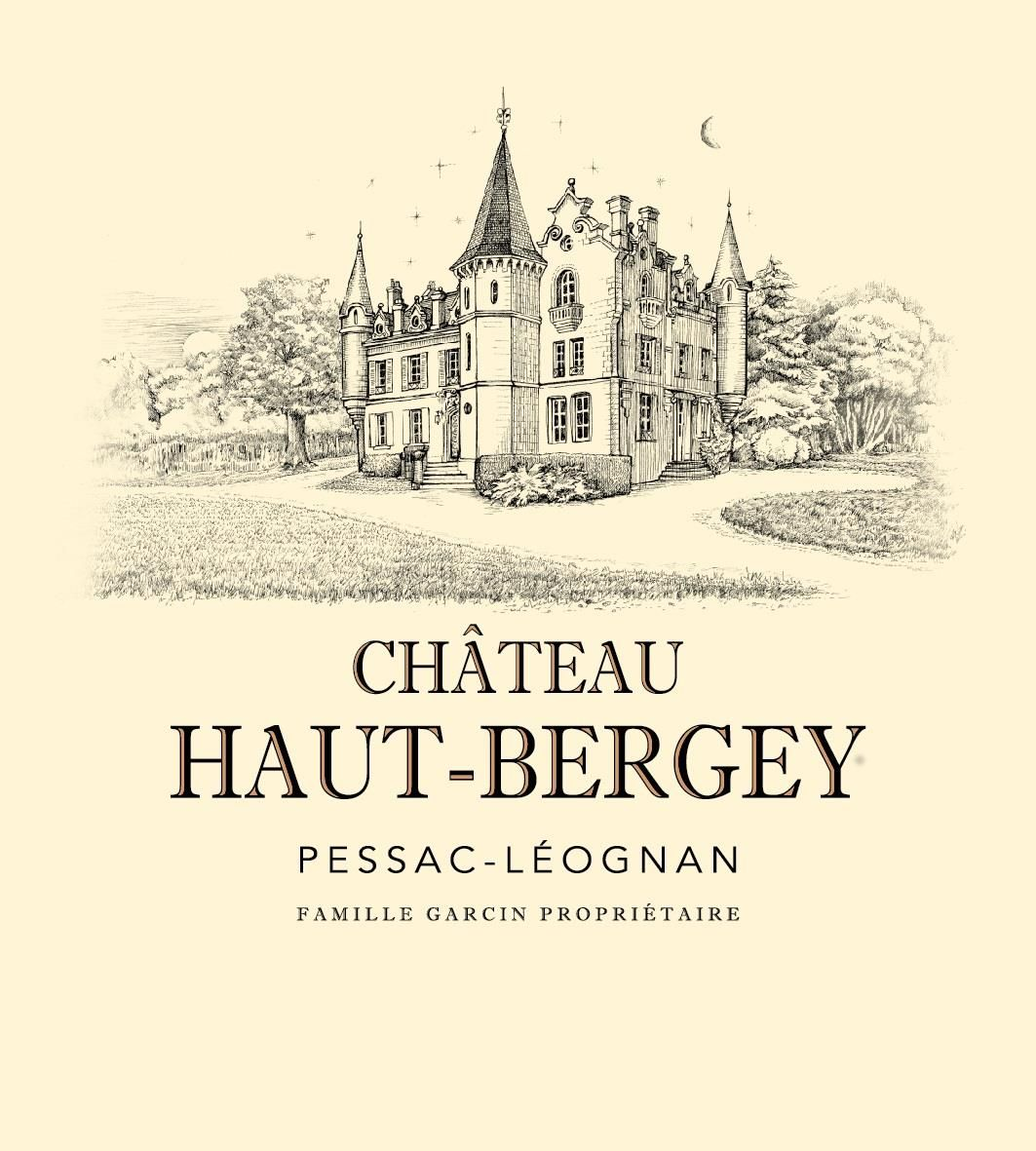 Chateau Haut-Bergey (Futures Pre-Sale) 2018  Front Label