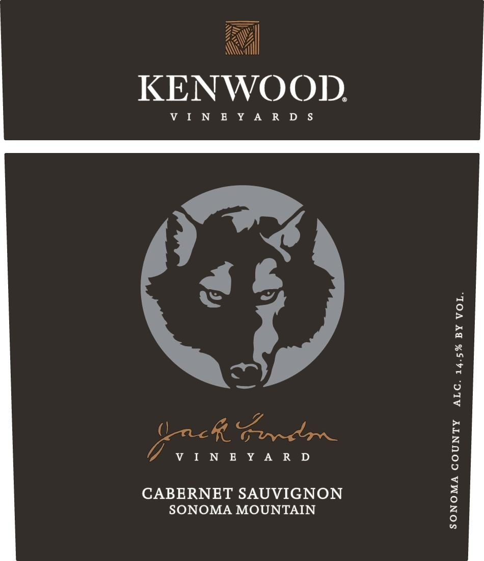 Kenwood Jack London Vineyard Cabernet Sauvignon 2016  Front Label