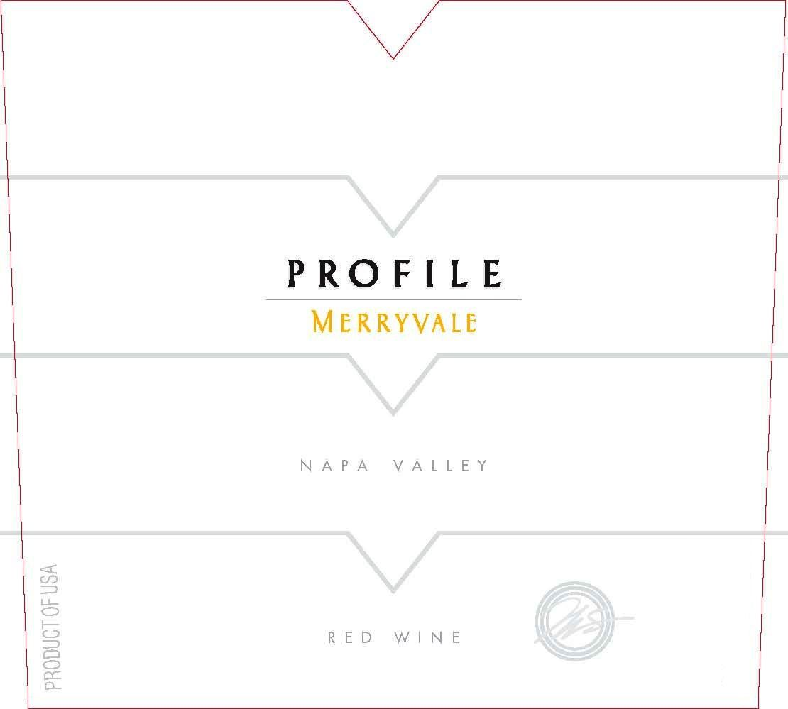 Merryvale Profile 2000  Front Label