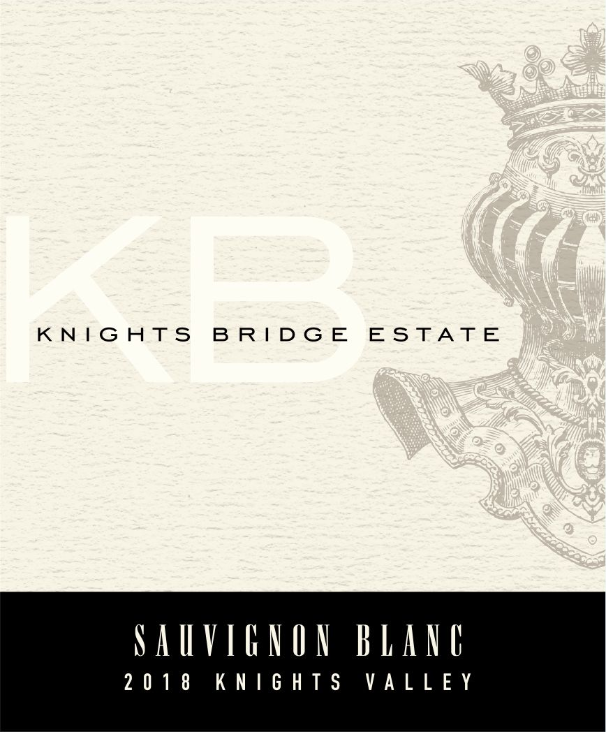 Knights Bridge Estate Sauvignon Blanc 2018  Front Label