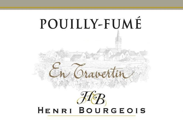 Henri Bourgeois Pouilly Fume En Travertin 2018  Front Label