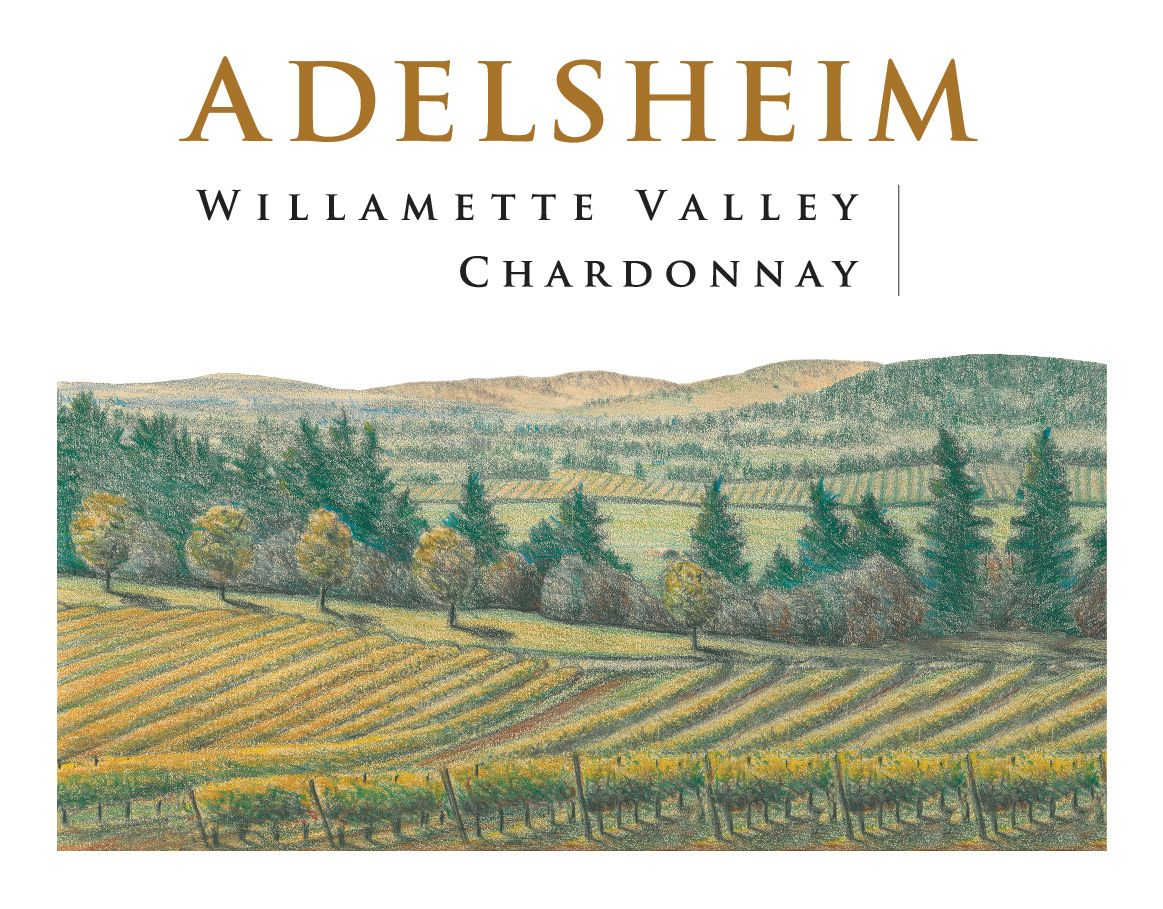Adelsheim Willamette Valley Chardonnay 2018  Front Label