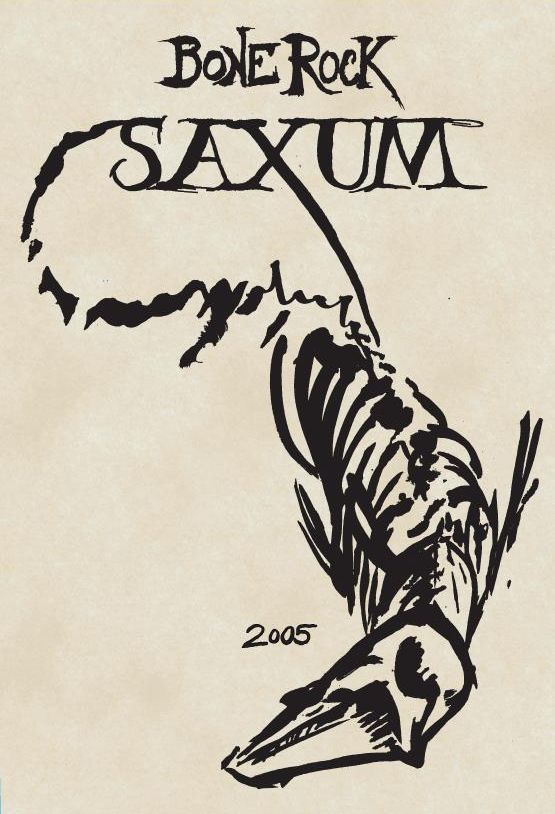 Saxum James Berry Vineyard Bone Rock (1.5 Liter Magnum) 2005  Front Label