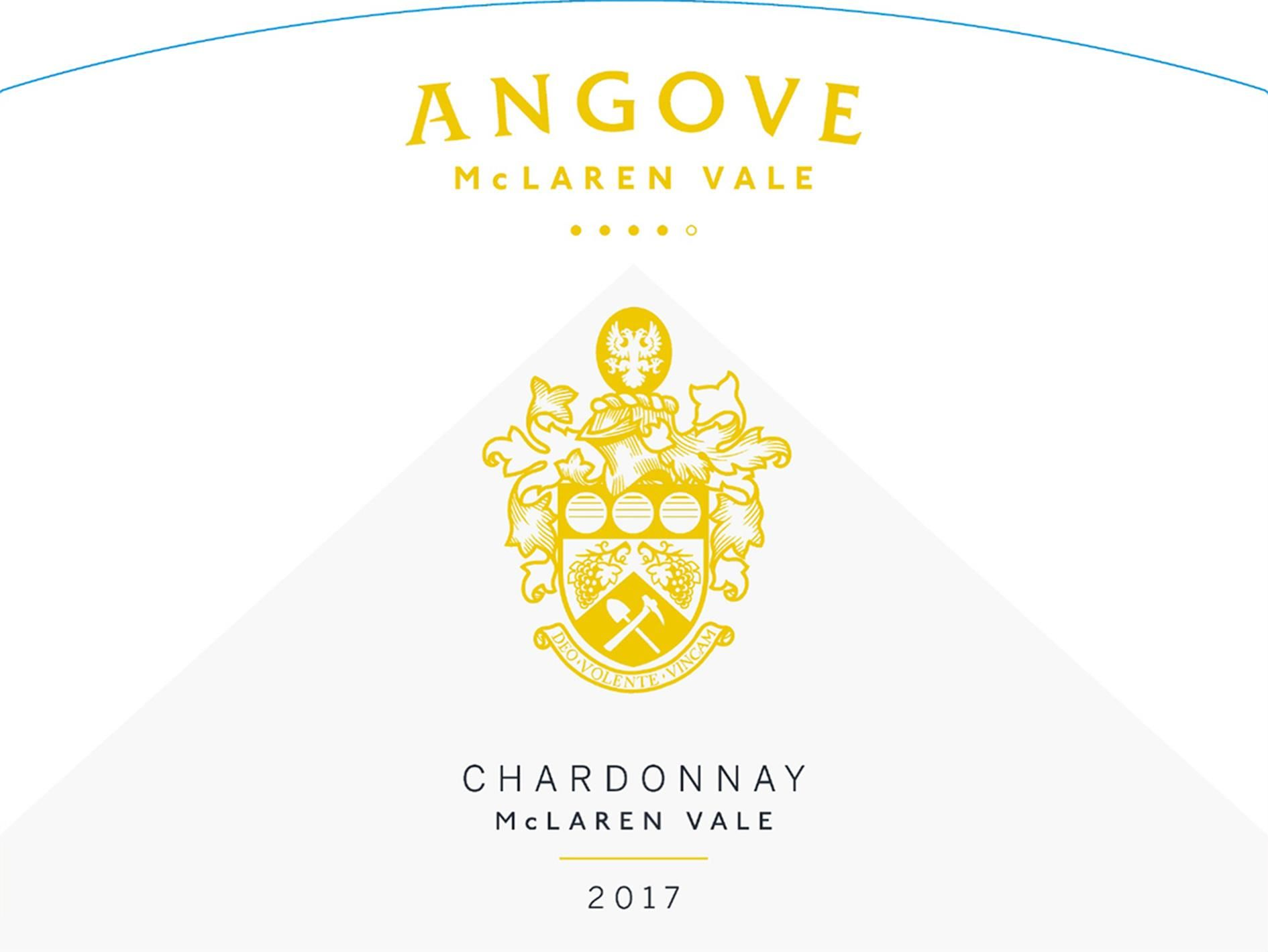 Angove Family Winemakers Family Crest Chardonnay 2017  Front Label