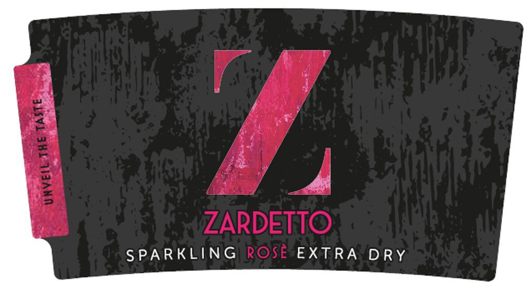 Zardetto Extra Dry Rose Front Label