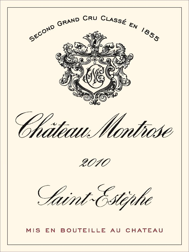 Chateau Montrose (3 Liter Bottle) 2010  Front Label