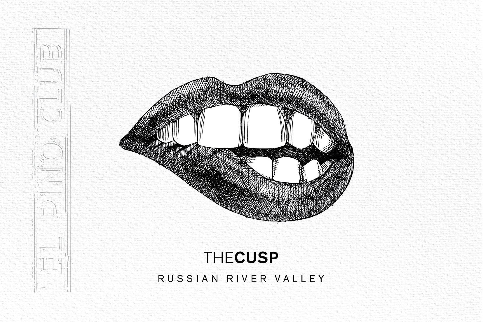 El Pino Club The Cusp Pinot Noir 2018  Front Label