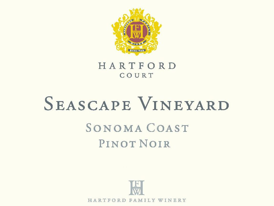 Hartford Court Seascape Vineyard Pinot Noir 2014 Front Label