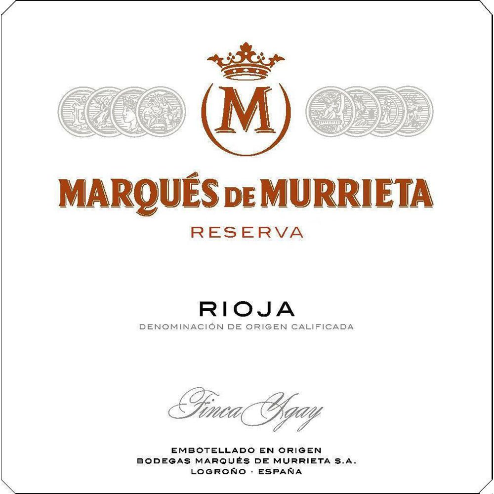 Marques de Murrieta Rioja Reserva 2015  Front Label