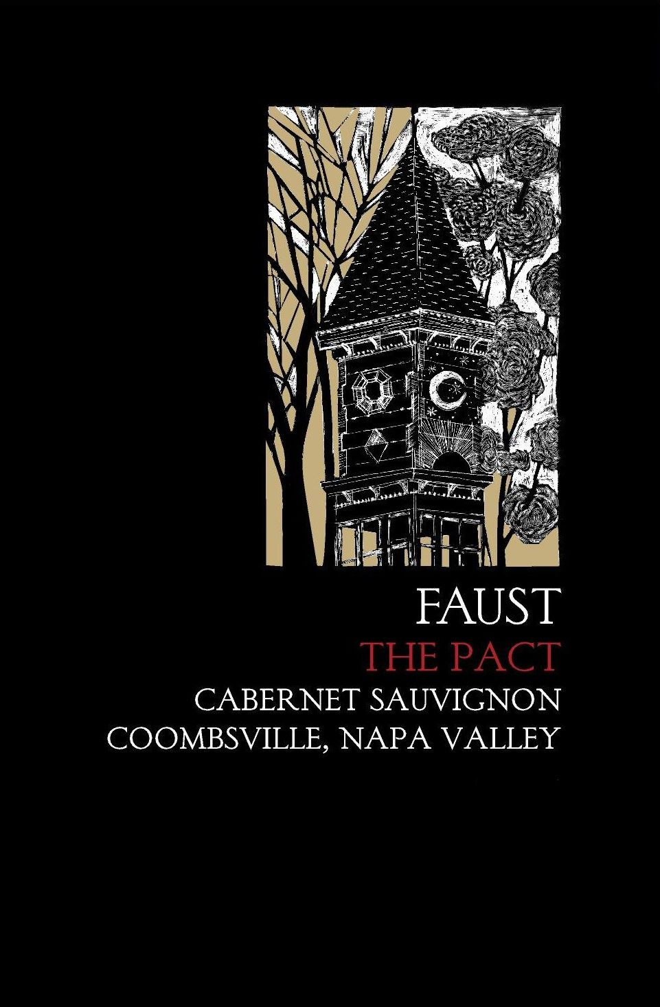 Faust The Pact 2016  Front Label