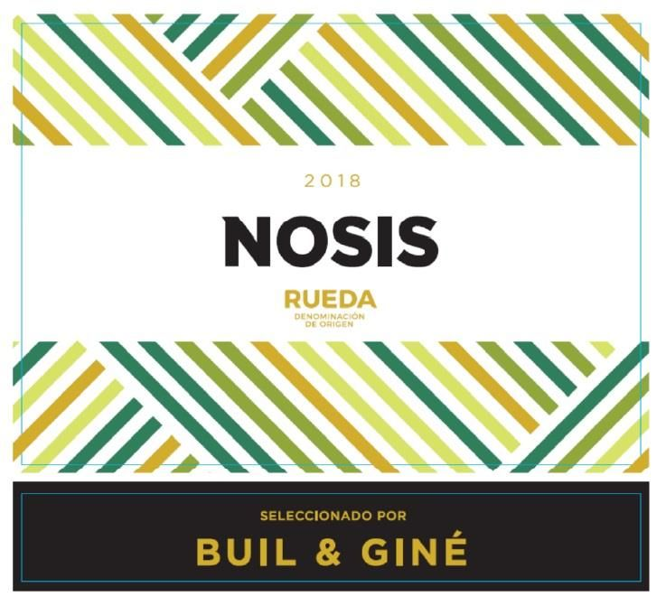 Buil and Gine Nosis 2018  Front Label