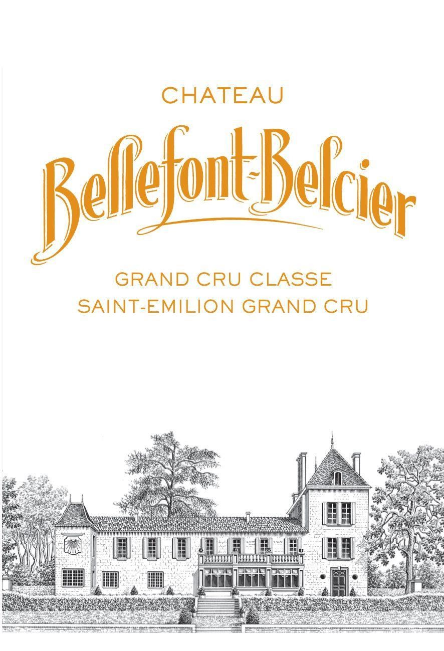 Chateau Bellefont Belcier (Futures Pre-Sale) 2018 Front Label