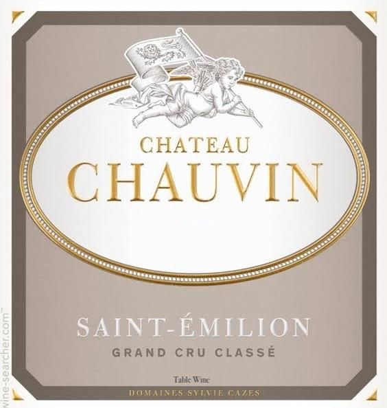 Chateau Chauvin (Futures Pre-Sale) 2018  Front Label