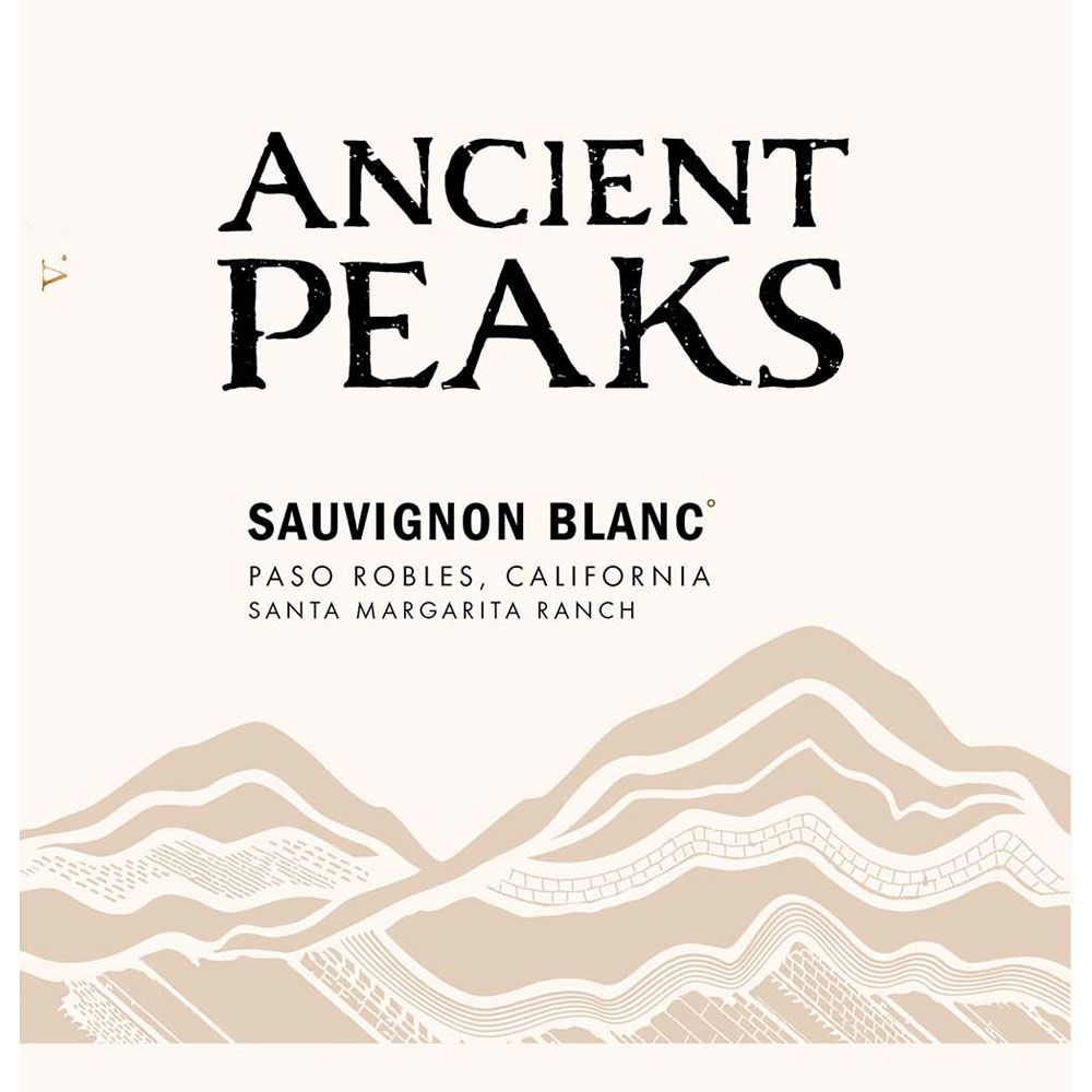 Ancient Peaks Paso Robles Sauvignon Blanc 2017  Front Label