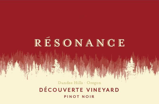 Resonance Decouverte Vineyard Pinot Noir 2015 Front Label